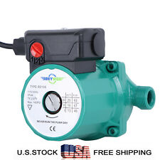 NPT 3/4'' Hot Water Circulation Pump 110-120V Circulator Pump for Solar Heater