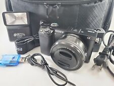 Sony Alpha a6000 Mirrorless Digital Camera 24.3MP SLR Camera w/ 16-50mm Lens