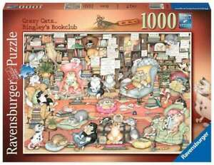 Ravensburger Puzzle 1000pc - Bingley's Bookclub 6765-4