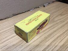 Dinky Toys #195 Jaguar Original Empty Box ⭐️⭐️⭐️⭐️⭐️