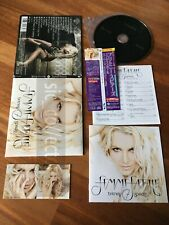 G68 BRITNEY SPEARS Femme fatale Japan CD + booklet + sticker Obi bonus track 17