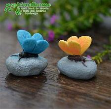 Butterfly Micro Landscape Mini Fairy Garden Article Creative Resin Decoration