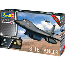 Revell Platinum Edition B-1B Lancer Military Plane Model Kit - Scale 1:48 04963