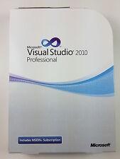 MS Visual Studio 2010 PROFESSIONAL PRO INGLESE ENGLISH DVD c5e-00521