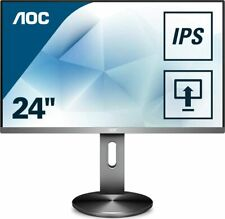 AOC I2490PXQU/BT 23,8 Zoll Monitor Full-HD 1920x1080 IPS LED Display VGA,HDMI,DP