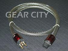 cpb4e 1.5m 5ft 16mm EU Mains Power OFC Cable Shield Cord Schuko IEC Plug HiFi
