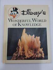 Vintage 1973 Disney's Wonderful World of Knowledge Books Volumes #8 treasures of