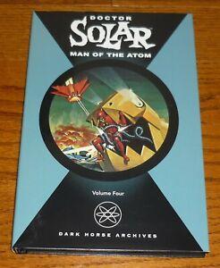Doctor Solar Man of the Atom Archives Volume 4, VG+ Dark Horse hardcover book