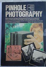 Pinhole Photography Kit John Adams Toys Vintage Made In England