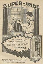W6946 Super-Iride Scarlato - Ha scoperto il segreto - Pubblicità 1925 - Advert.