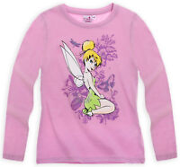 DISNEY t-shirt LA FEE CLOCHETTE  5 ou 6 ans  parme TINKERBELL haut NEUF