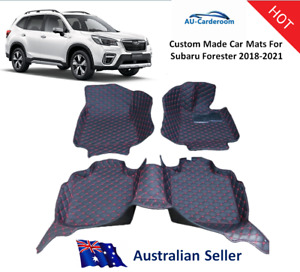 Subaru Forester 2018-2021 Full Surrounded Custom Tailored Car Floor Mats/Carpets