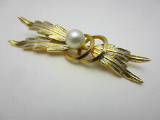 Unbranded Pearl Enamel Costume Brooches & Pins