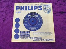 """THE WALKER BROTHERS Sun Ain't Gonna Shine Anymore 1966 UK PHILIPS 7"""" Single EX"""