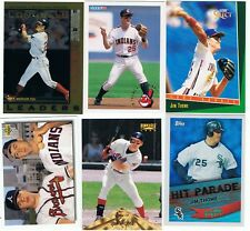 Jim Thome 6 card lot,Cleveland Indians,Chicago White Sox,Hall of Fame,rc,NM-MT