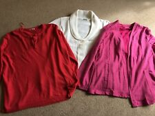 Ladies Size 22/24 Cardigans and jumpers bundle