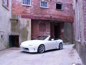 Mazda MX5 1990-1997 NA Duraflex Wizdom Body Kit 4pc slight damage RRP $2300