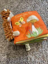 "Hedgehog ""Love You So"" Soft Infant Toddler Book from Hallmark"