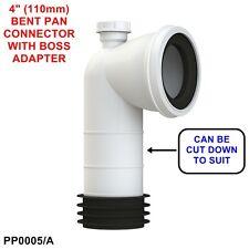 VIVA 90 Gradi Gomito Con Adattatore BOSS 110mm Easi-fit PAN connettore pp0005 / a * NUOVA *