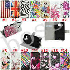 Flip Magnetic Wallet PU leather stand Silicone Soft phone cover case for Nokia