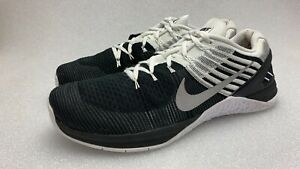 Nike Metcon DSX Flyknit Black/White Crossfit Training Men's Sz 13 852930-005