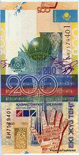 Kasachstan Geldschein 200 Tenge 2006 P28 neu Handgehoben siehe scans