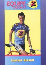 LAURENT BEZAULT Cyclisme Cycling Cycliste Z PEUGEOT 92
