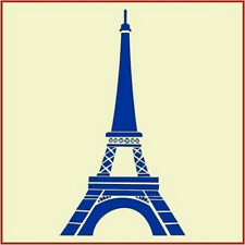 EIFFEL TOWER - FRENCH STENCIL - The Artful Stencil