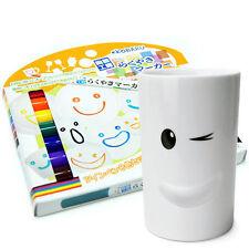 Ceramics Marker Vivid 8-Color Set DIY Porcelain Painter Pens Drawing Mug Japan