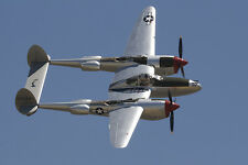 Giant 1/6 Scale American Lockheed WW-II P-38 Lightning Plans,Templates,Inst 94ws