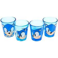 Sonic The Hedgehog - Face Shot Glass Set