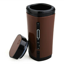 Portable USB Heating Automatic Stirring Insulated Coffee Travel Mug Thermos Cup