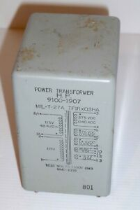 Hewlett Packard power transformer suitable for valve audio pre-amplifiers