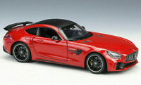 MERCEDES BENZ AMG GTR 1/24 Scale Model Toy Car Metal Miniature Red GT R Red
