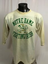 NOTRE DAME FIGHTING IRISH VINTAGE 1980'S CHAMPION JERSEY ADULT LARGE