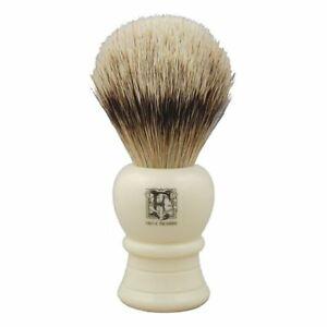 Geo F Trumper SB4 Super Badger Shaving Brush (Simulated Ivory)