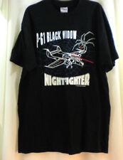 P-61 Black Widow Night Fighter T-shirt XL  46-48  Adult NWOT WWII 100% cotton