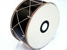 """MOMA :: 20"""" TURKISH  PERCUSSION    DRUM DAVUL w/ METAL CLIPS and  LIGHT !!!!!!"""