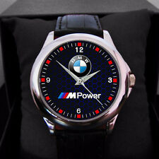 NEW M Power BMW M5 MENS N WOMEN LEATHER WATCH