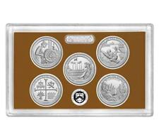2019 S National Park Quarters Proofs Clad No Box or COA 5 Deep Cameo Proofs
