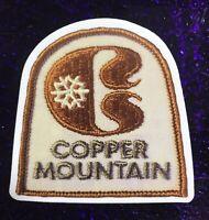 Copper Mountain Ski Resort Colorado Sticker Vintage Ski Patch Image