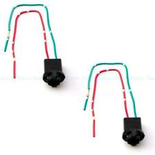 2x T10 168 194 2825 927 928 Socket Light Bulbs Wire Harness Extension Connectors
