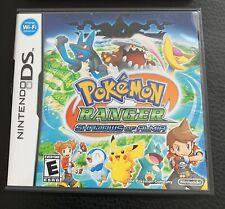 Nintendo Ds Pokémon Ranger Shadows Of Almia - Listing Other Games, Check Back!