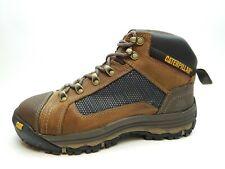 Caterpillar Men Boots CONVEX MID ST STEEL TOE P90523 DARK BEIGE SIZE 8.5