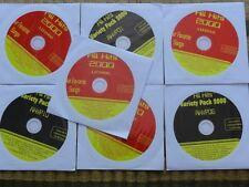 7 CDG DISCS OLDIES COUNTRY KARAOKE CD - KISS,HEART,BROADWAY,COME ON EILEEN