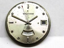 Vintage Waltham Day-Date 2nd Hand Watch Movement , 17 jewels.
