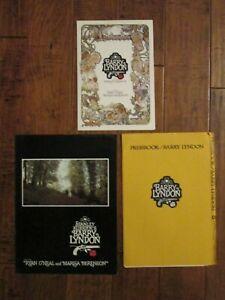 Barry Lyndon   - Original   Movie Promotional Items  - Stanley Kubrick