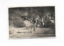 Fotografia originale FAUSTO COPPI in fuga salita OTTIMO anni 40/50 Foto ciclismo