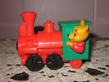 Vintage Disney Winnie The Pooh & His Red & Green Train Action Figure
