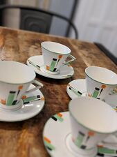 Art Deco - Cups and Saucers